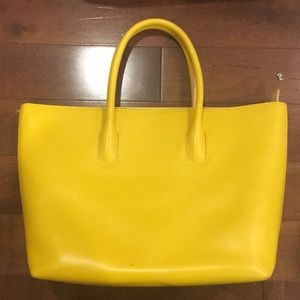 Furla Yellow Tote Bag
